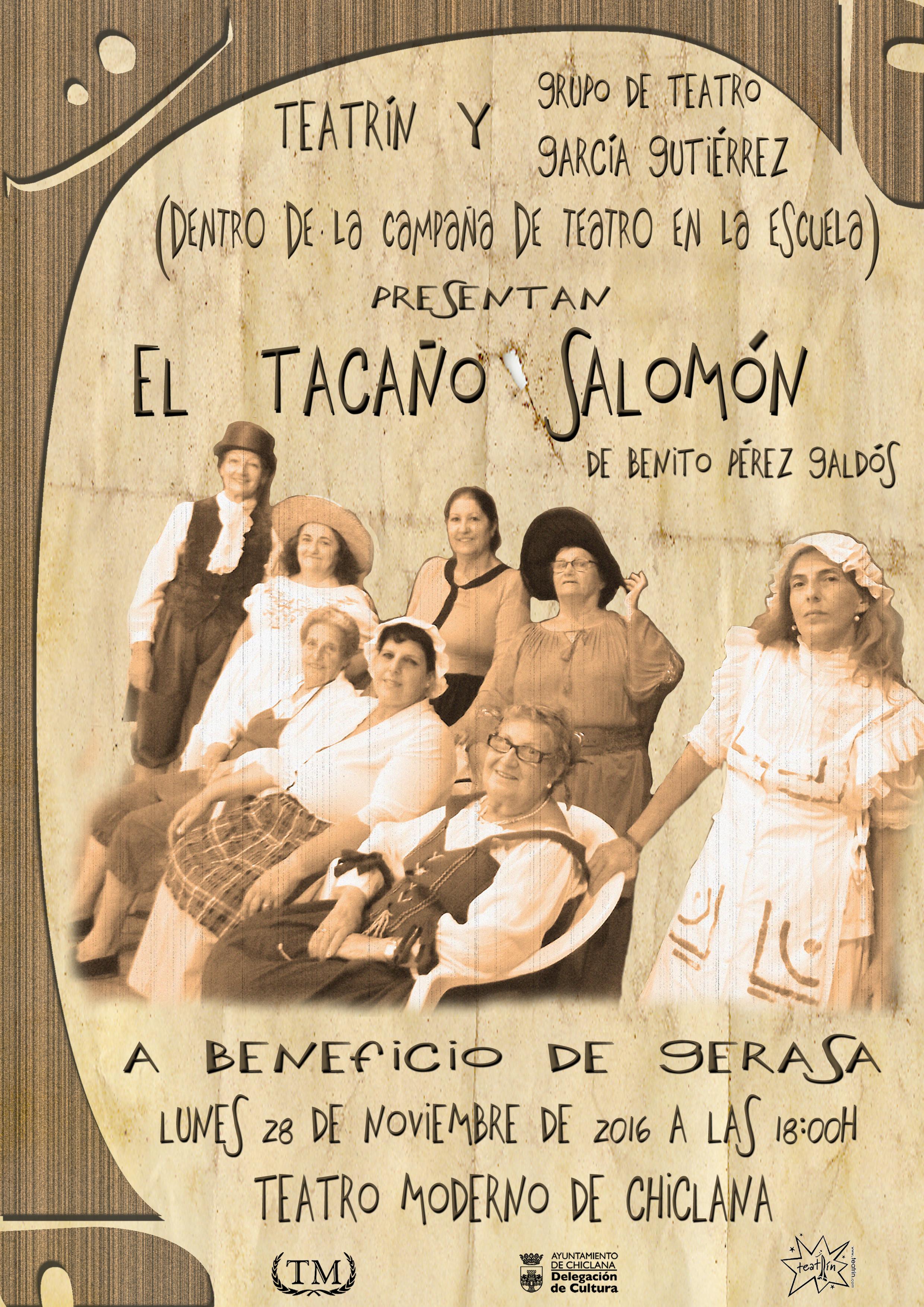CARTEL_EL TACAÑO SALOMÓN