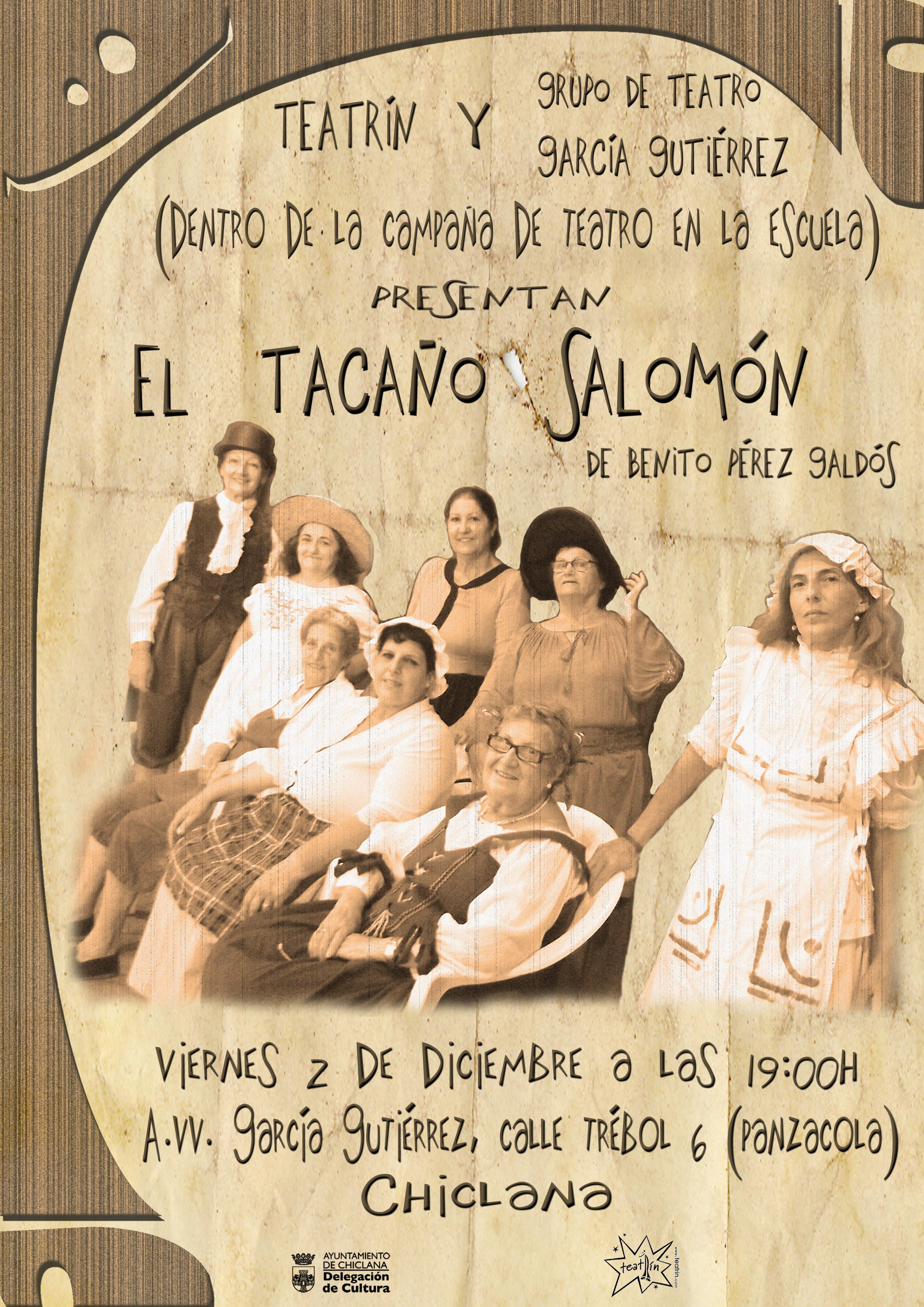 CARTEL_EL TACAÑO SALOMÓN_GARCIA GUTIERREZ